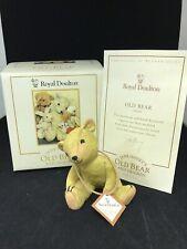 Royal Doulton Jane Hissey'S Old Bear & Friends Figurine With Original Box & Coa