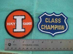 Vintage Isky Iskenderian  Racing Cam Hat Patches