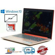 """Portátil Lenovo IdeaPad 320-15AST 15,6"""" AMD A9-9420 4GB 128GB SSD Windows 10"""