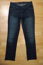 ESPRIT Jeans Hose Gr.36/S Röhre Damen Chinos dunkel blau