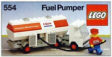 LEGO Classic Town GAS STATION 554 Exxon Fuel Pumper  New Sealed