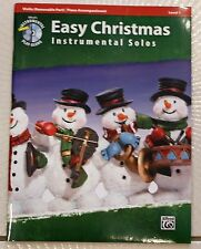 Easy Christmas Instrumental Solos Violin