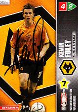 Cardiff City F.c Stephen Mcphail mano firmado Campeonato 2008 Panini tarjeta.
