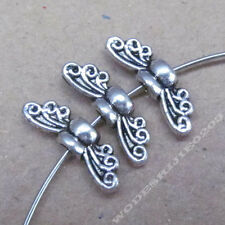 30pc Bee Angel wings Spacer Beads Accessories Bead Findings Tibetan Silver SA227