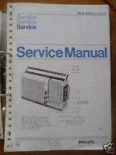 Service Manual Philips 90 AL 600 Radio,ORIGINAL