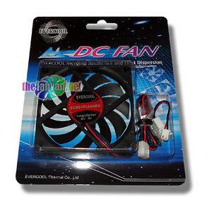 Evercool 80mm x 10mm 5v 3 pin Fan + Screws EC8010LL05EA