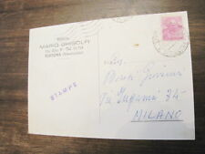 Cartolina partita a SCACCHI per corrispondenza 1962