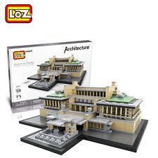 LOZ lmperial Hotel world famous building Diamond Mini Building Blocks Toy