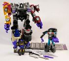 TRANSFORMERS COMBINER WARS MENASOR STUNTICONS SET OF 7 WITH WILDRIDER & OFFROAD