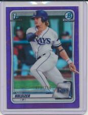 NIKO HULSIZER 2020 BOWMAN CHROME PURPLE REFRACTOR ROOKIE CARD /250 #BCP-17 RC