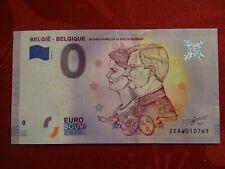 Billet 0 Euro ZEAW 2020-2 Belgique 20 ans Mariage Philippe & Mathilde 4.000 Expl