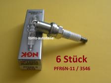 6 Original NGK Zündkerzen PLATIN PFR6N-11 3546 LAND ROVER Freelander L314 V6