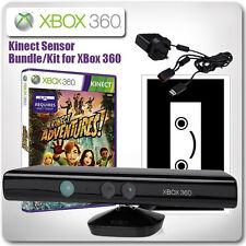 XBOX 360 kinect sensore pacchetto - CON KINECT ADVENTURES (come nuovo)