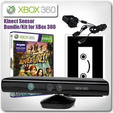 Xbox 360 Kinect Sensor Bundle-Con Kinect Adventures * En Excelente Estado *