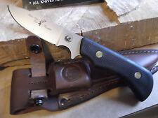 """KNIVES OF ALASKA 8 1/2"""" TREKKER ELK HUNTER SUREGRIP BLACK HANDLE D2 BLADE 161FG"""