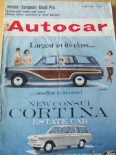Autocar Cars, 1980s Transportation Magazines in English