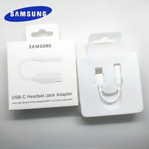SAMSUNG Type C 3.5 Jack Earphone Cable USB C to 3.5mm AUX Headphones Adapter