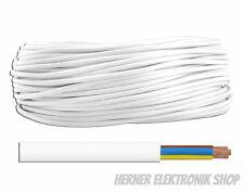 OMY  3 x 1,5 mm²  300/300V weiß 20m - Schlauchleitung Stromleitung