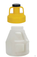 Oil Safe Container Drum for Oil 10 Litre With Yellow Oil Safe Utility Lid