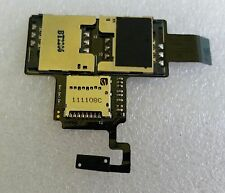 Original Flex micro SD Speicher Dual Sim Karten Leser Reader HTC Desire V T328W