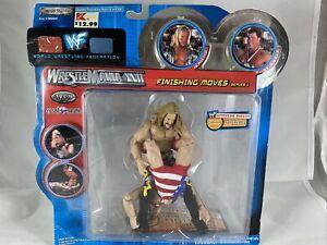 2000 WWF WWE WrestleMania XVII Finishing Moves Jericho Kurt Angle Action Figure