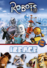 ROBOTS ICE AGE BOX SET - DVD - REGION 2 UK