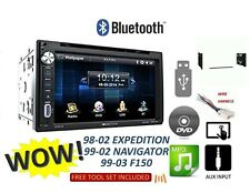 F150 NAVIGATOR ECONOLINE VAN EXPEDITION Car Stereo Radio Bluetooth TOUCHSCREEN