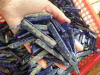 LAPIS LAZULI Afghanistan 40 -70mm Tumbled Chips 1/4lb Bulk Stones