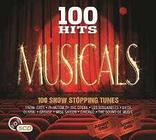 100 Hits Musicals (NEW & SEALED 5 x CD Box Set)