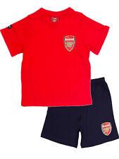 Boys Arsenal Short Pyjamas Pjs Pyjama Set Football Kids Children Gift 3-12 Years