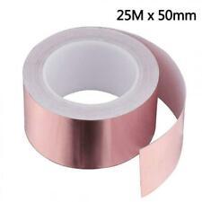 Dioxide cuivre Ruban 50 mmx25 m EMI Kapton Tape adhésif autocollant abschi...