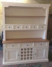 Solid Wood Dresser With Wine Rack Any Farrow & Ball Paint We Can Make Any Size