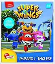 Imparo l'inglese Super Wings Libro Gioco Ediz illustr. Nuovo Lisciani
