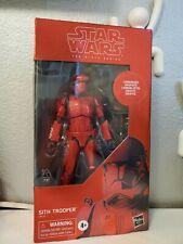 "Hasbro Star Wars Black Series Carbonized Sith Trooper 6"" Action Figure"
