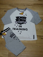 WONDER WOMAN Schlafanzug Pyjama *Wonder Woman in Training* M 38 40 Primark NEU
