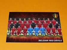 DIABLES RED DEVILS BELGIQUE BELGIË 2015 PANINI FAMILY FOOTBALL UEFA EURO 2016