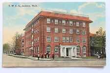 Old postcard Y.W.C.A., JACKSON, MICHIGAN
