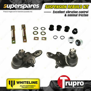 Whiteline Lower Control Arm Bush Trupro Lower Ball Joint for Toyota Tarago ACR30
