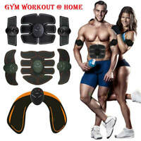 EMS MUSCLE TRAINER STIMULATION WORKOUT MASSAGER ABS ABDOMINAL BACK WIRELESS