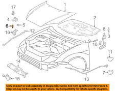 FORD OEM-Hood Rubber Bumper Cushion F5RZ16758A