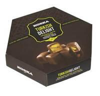 Chocolate Coated Turkish Delight with Hazelnut -Rose Lemon-Orange-Pistachio-Mint