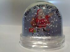 Boule de Noël neige mon premier Noël personnalisable avec votre prénom et photo