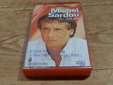 MICHEL SARDOU - K7 audio / Audio tape !!! 1978-1979 !!