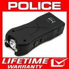 POLICE Stun Gun Black Mini 398 550 BV Rechargeable LED Flashlight  <br/> 550 Billion Stun Gun + Lifetime Warranty + FREE Case