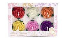 Handmade Rose Scented Candles & Tea Lights