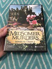 Midsomer Murders: Series 10 PART 2 DVD (4 discs)