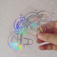 2019 Kpop SEVENTEEN Lightstick Laser Sticker HOSHI WONWOO Phone Case Stickers