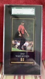 TIGER WOODS~1997 MASTERS COLLECTION CHAMPIONS SGC-88 8 NM/MT 1998 ROOKIE RC CARD