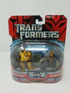 Transformers Allspark Battles Bumblebee vs Scorponok 2007 Hasbro