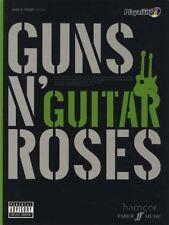 Guns n' Roses Authentic Playalong Guitar TAB Book & Backing Tracks CD
